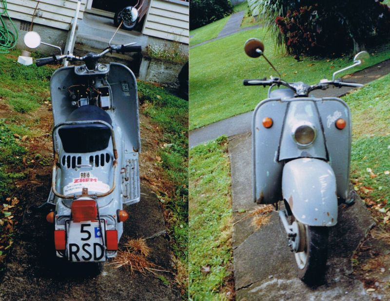 Wolf's Motorcycling Pages - Zundapp Restoration